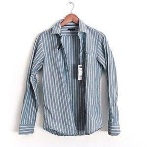 Sisley Striped Button Up Shirt